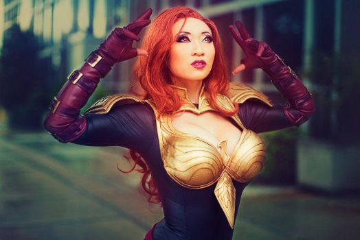 Phoenix 5 Jean Grey - Marvel: Avengers Alliance by yayacosplay