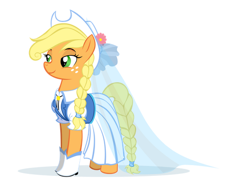 Wedding AppleJack by MoostarGazer