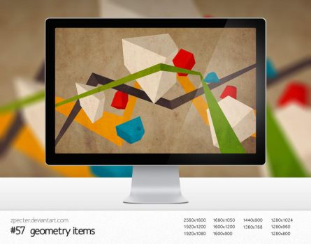 wallpaper 57 geometry items by zpecter