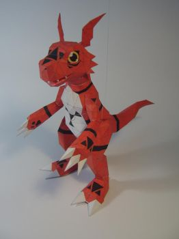 Guilmon papercraft .2 by WaChuLeRuXx