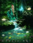 The Mystic Falls by TaniaART