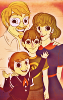 OTGW: Family Portrait by EvieSketchy