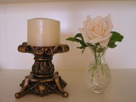 Ornate Candle by stock-kitty
