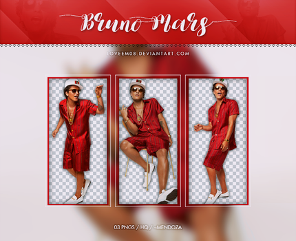 BRUNO MARS PNG Pack #5 by LoveEm08
