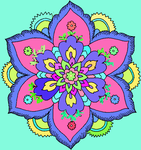 hard flower coloring pages-708008 by ladybug455 on deviantart - Hard Flower Coloring Pages