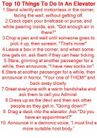 10 Things to do in an Elevator by GoddessofHockey