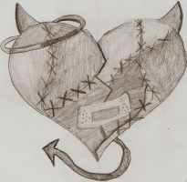 Sad Broken Heart Drawing Easy Drawing Broken Heartgallery For