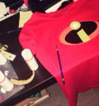 The Incredibles Shirt WIP by NeverlandCravings