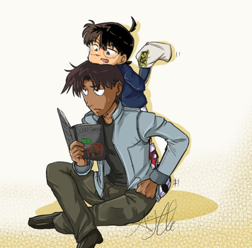 Detective Conan: Heiji and Conan. by 1010Amy-Kia