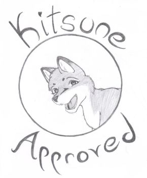 Kitsune Approved by NevermoreFox