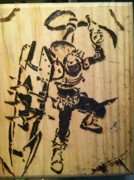 -Singed into Wood- by ImperialCody