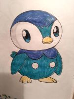 Piplup by Legendrawing