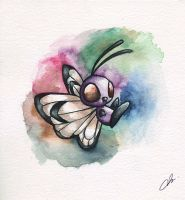Watercolor-Butterfree