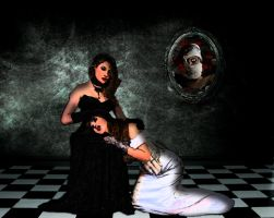 Submitting to my monsters by aamcclen