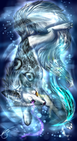 CE: Aqua-fox by AgentWhiteHawk