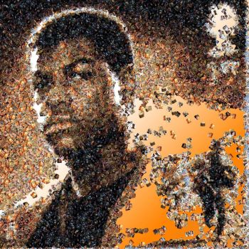 Finn photo mosaic by Mosaikify