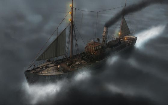Fish Trawler in Storm MK2 by eRe4s3r