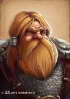 Dwarf by AppleSin