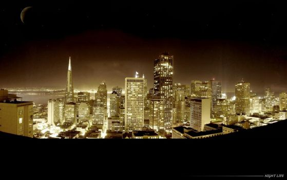 :night life by InnocentEd