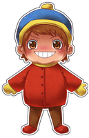 chibi - cartman by northstation