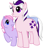 Twilight and Ember - FiM Style by Deathdog3000