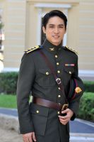 Axis - Greater Thailand Army officer by LongXiaolong