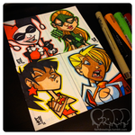 Sketch Cards by IamOSI