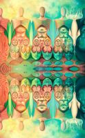 Searching for Myself - optical illusion by JUST-inART