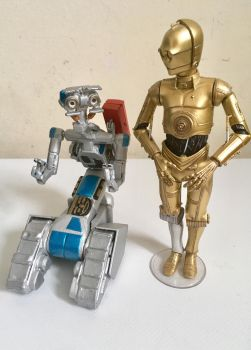 Mini Johnny Five toy, handmade short circuit movie by Jayluke2006
