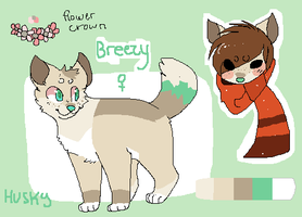 Alt Breezy Reference Sheet by Pepsq