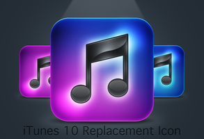 iTunes 10 Replacement Icon by itouchking