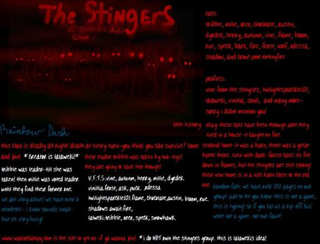 the anti-clan~ THE STINGERS! by vinespeck