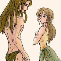 Tarzan and Jane by shibu