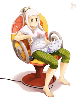 Squeeze that chair by meago