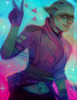 Peebee by StarshipSorceress
