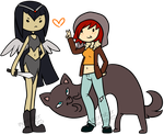 Adventure Time ocs by LullabyPrince