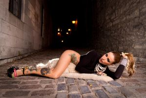 Laying On Fur by a1photographe