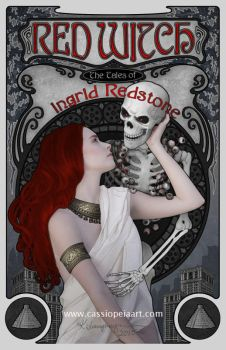 Red Witch - Ingrid Redstone by CassiopeiaArt