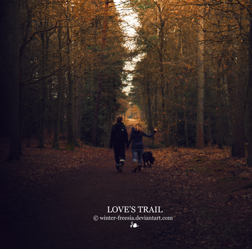 Love's Trail by Winter-Freesia