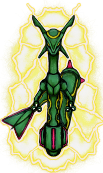 Pokemon Request - Rayquaza by dragonfire53511