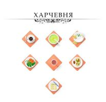 Icons for website - food by sattu