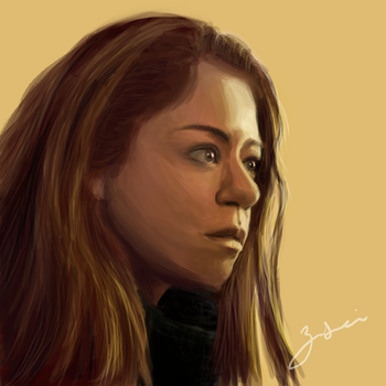 Sarah Manning Orphan Black by zzzilei