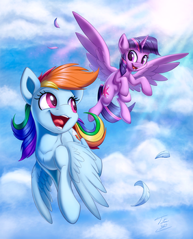 Come On Twily Lets Go Flying by Tsitra360