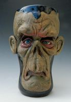 Astro Zombie Beer Mug- FOR SALE by thebigduluth