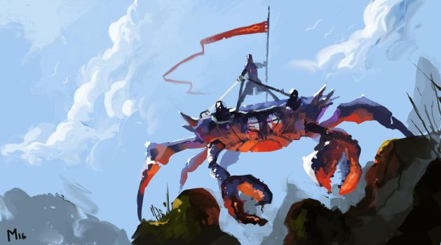 Mutated Crab by DominikMayer