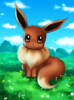 Eevee by Xenonia