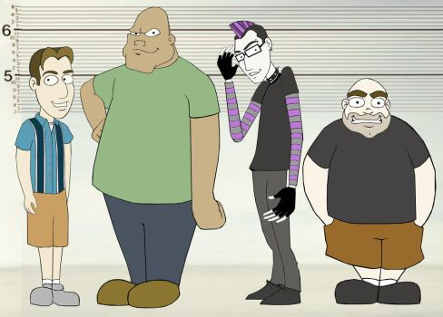 usual suspects by Andyfll