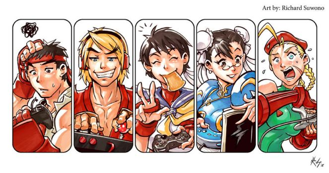 Street Fighter Playing Style ! by r-chie