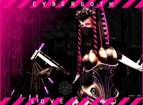 Cybergoth Love Part 1 by Rehula