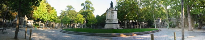 Pere Lachaise Cemetery by wolfye